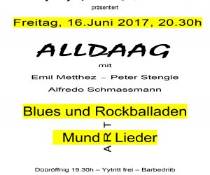 "Blues und Rockballaden mit ""gig for you"""